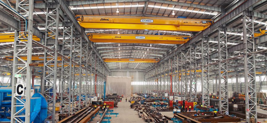 Civmec on track with Wheatstone contract