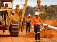 Eastern Goldfields Pipeline opened