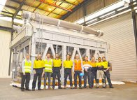 Final generator component shipped for Ichthys