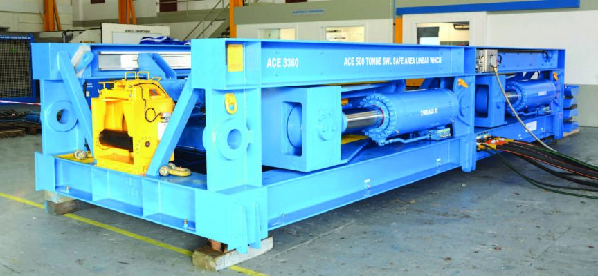 ACE Winches announces new 500te Linear Winch
