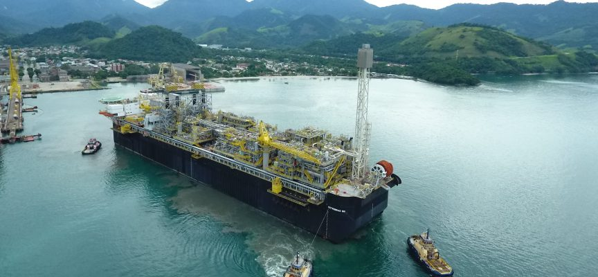 P-66 FPSO sets sail for Lula field