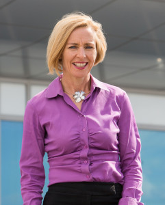 Regional Director of GE Oil & Gas Mary Hackett. Image courtesy GE Oil & Gas.