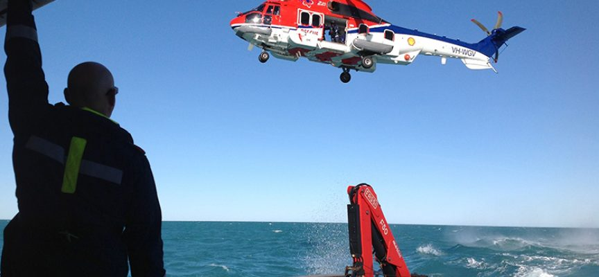 Shell launches first of its kind helicopter service in Broome