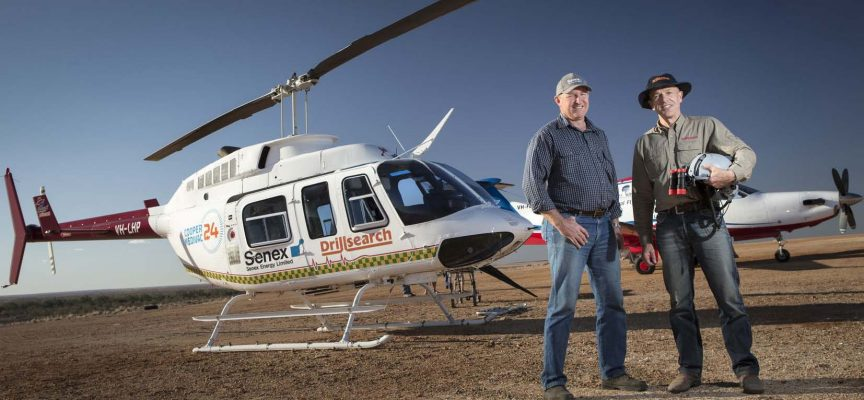 Cooper basin chopper to help save lives