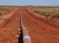 Fortescue River Gas Pipeline completed