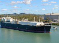First gas departs APLNG