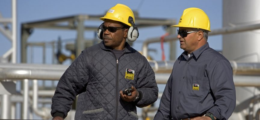 Eni delivers gas at Egypt wells