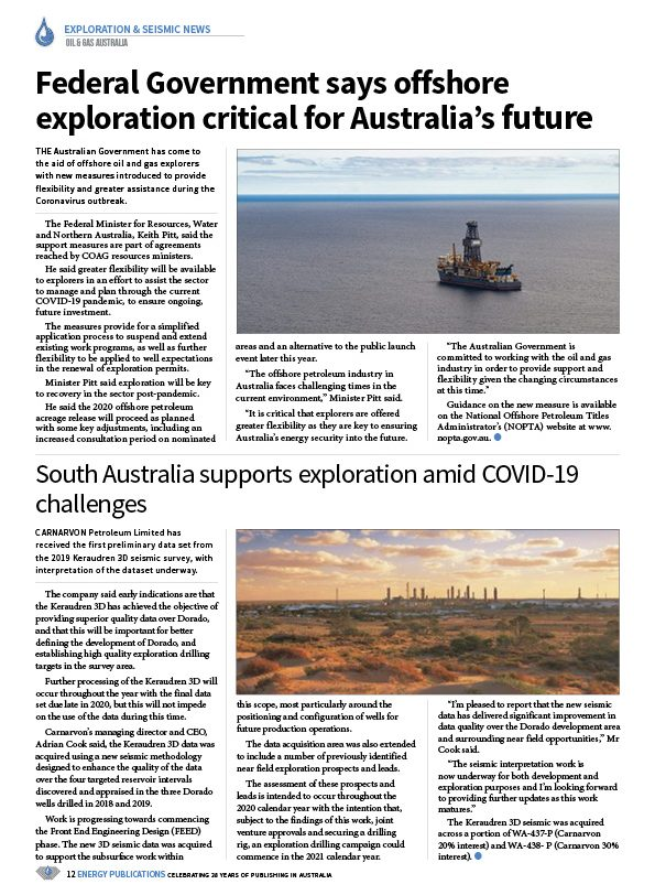 Oil & Gas Australia – April 2020 – Page 14
