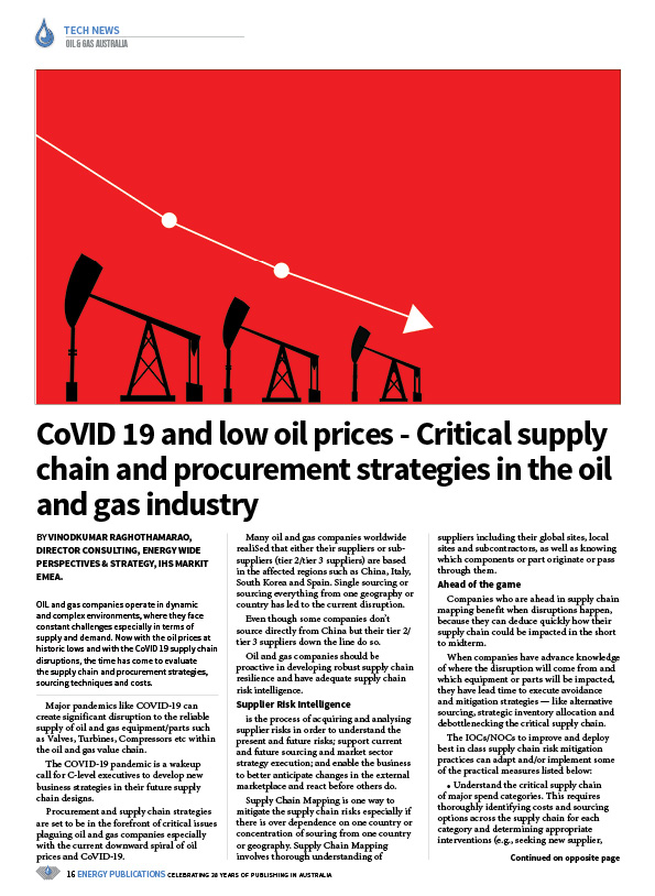 Oil & Gas Australia – April 2020 – Page 18