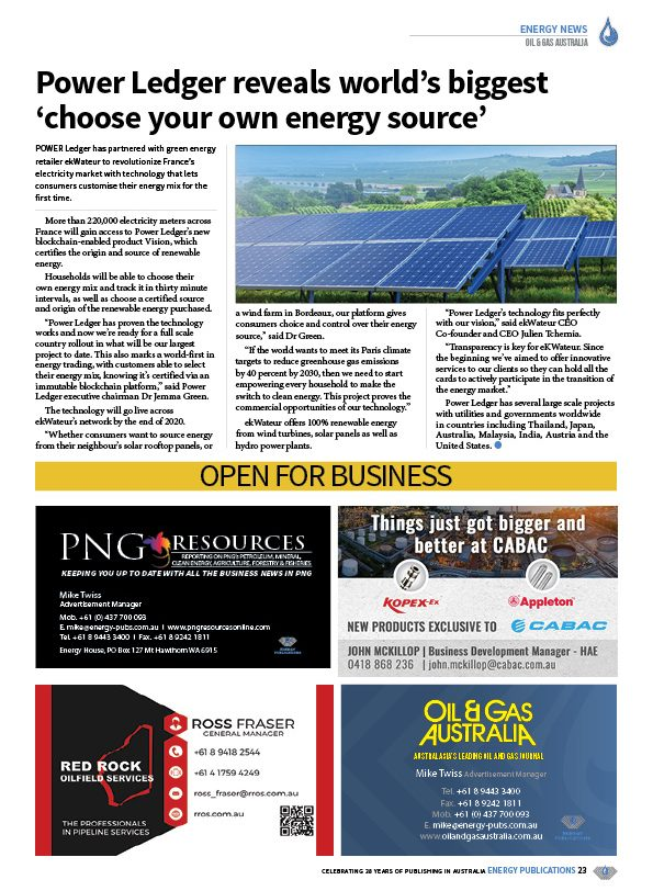 Oil & Gas Australia – April 2020 – Page 25