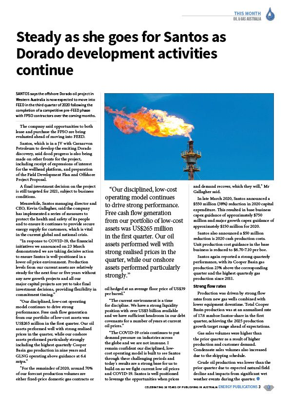 Oil & Gas Australia – April 2020 – Page 5
