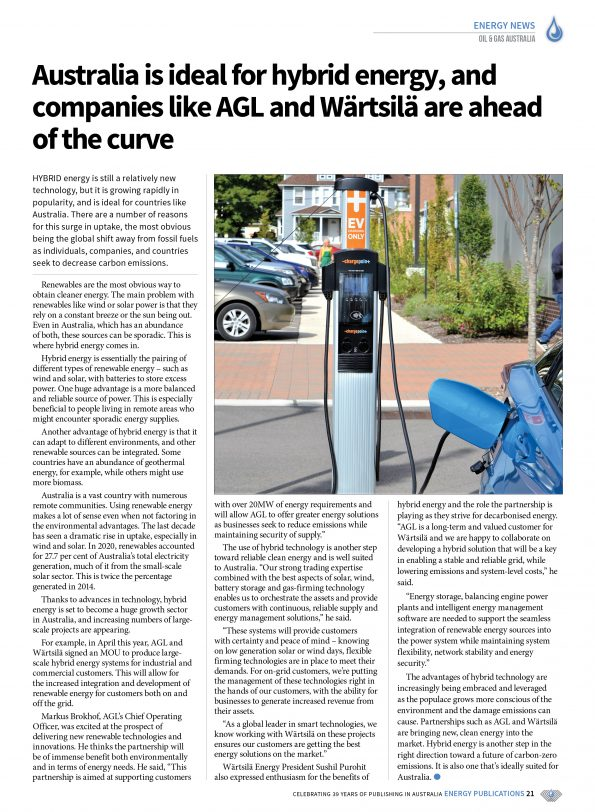 Oil & Gas Australia – April 2021 – Page 23