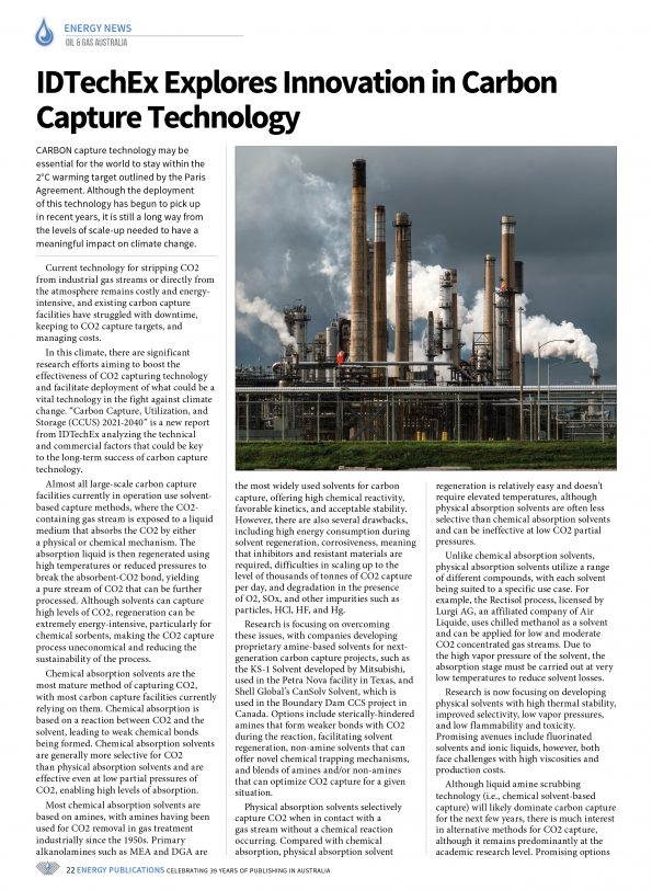 Oil & Gas Australia – April 2021 – Page 24
