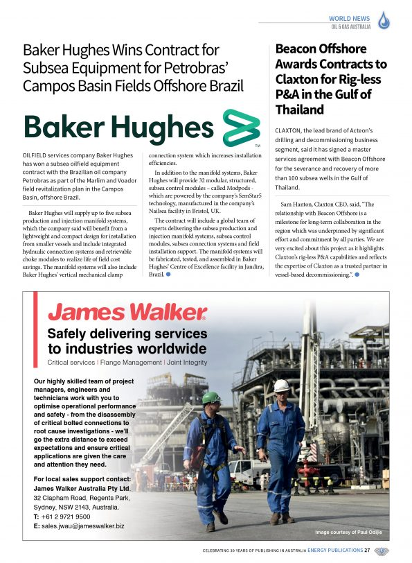 Oil & Gas Australia – April 2021 – Page 29