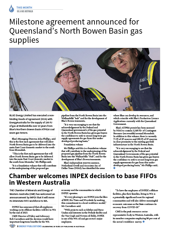 Oil & Gas Australia – December 2020 – January 2021 – Page 10
