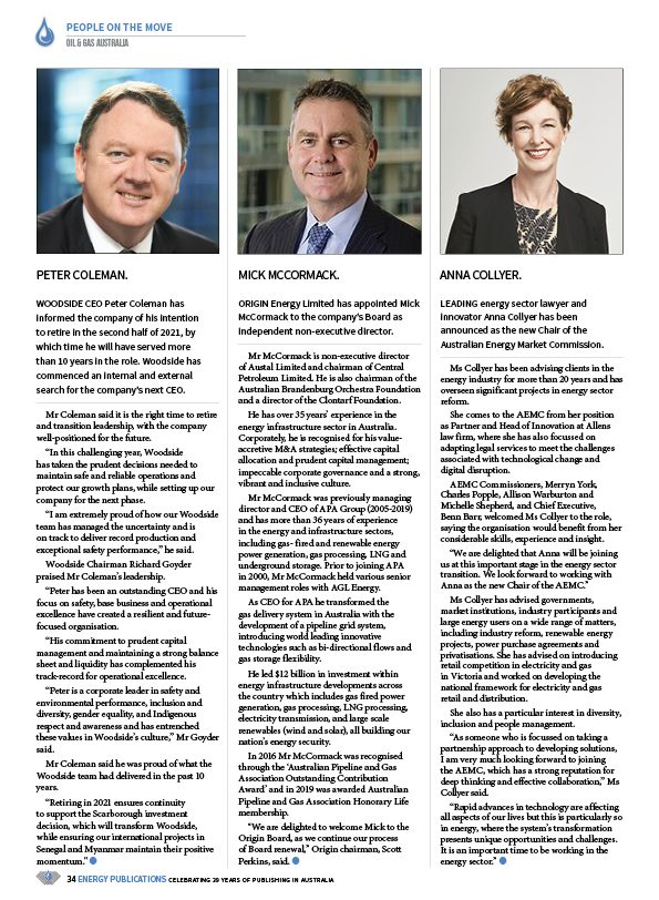 Oil & Gas Australia – December 2020 – January 2021 – Page 36