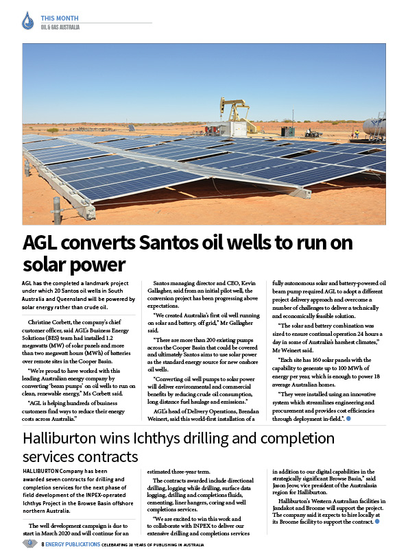 Oil & Gas Australia – February 2020 – Page 10
