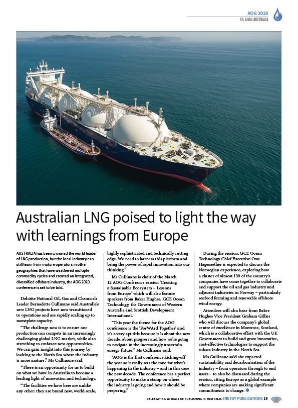 Oil & Gas Australia – February 2020 – Page 21