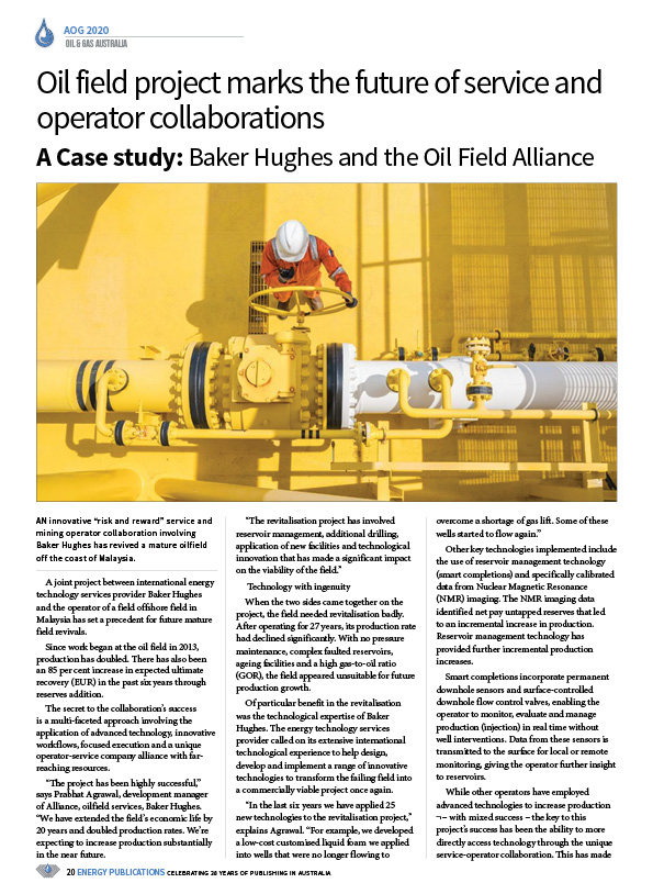 Oil & Gas Australia – February 2020 – Page 22