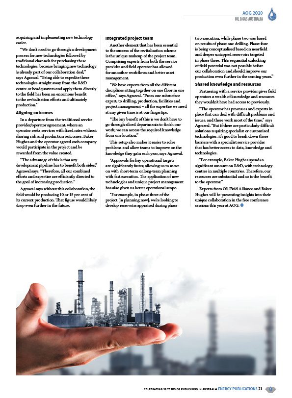 Oil & Gas Australia – February 2020 – Page 23