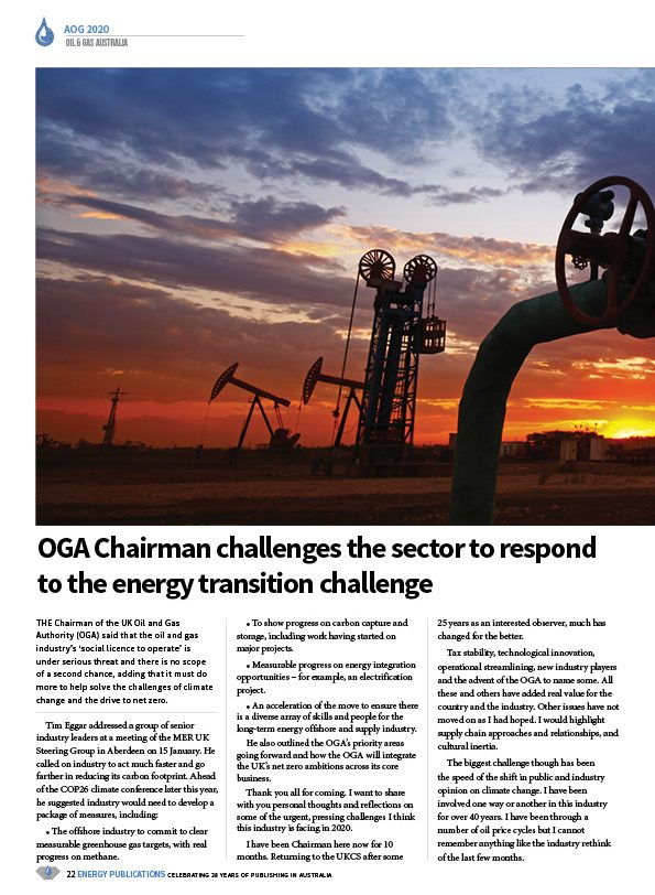 Oil & Gas Australia – February 2020 – Page 24