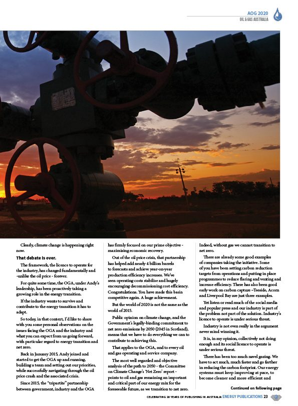 Oil & Gas Australia – February 2020 – Page 25