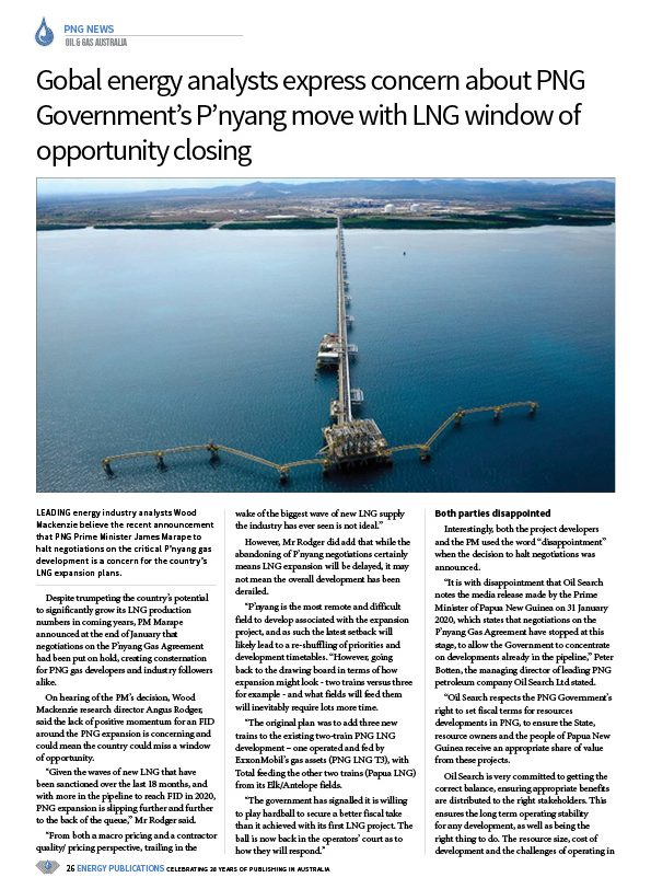 Oil & Gas Australia – February 2020 – Page 28