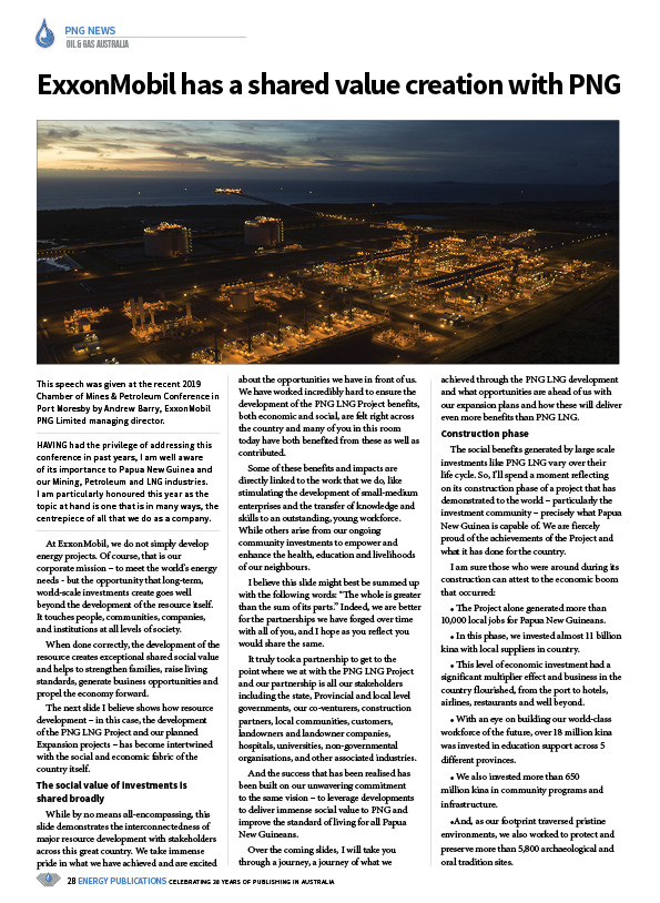 Oil & Gas Australia – February 2020 – Page 30