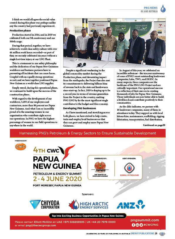 Oil & Gas Australia – February 2020 – Page 31