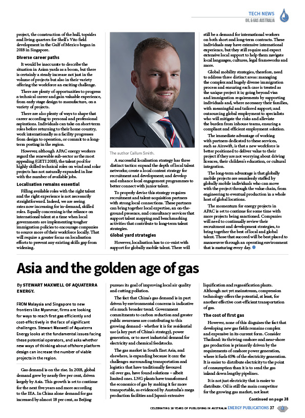 Oil & Gas Australia – February 2020 – Page 39