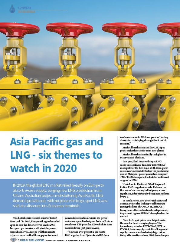 Oil & Gas Australia – February 2020 – Page 4