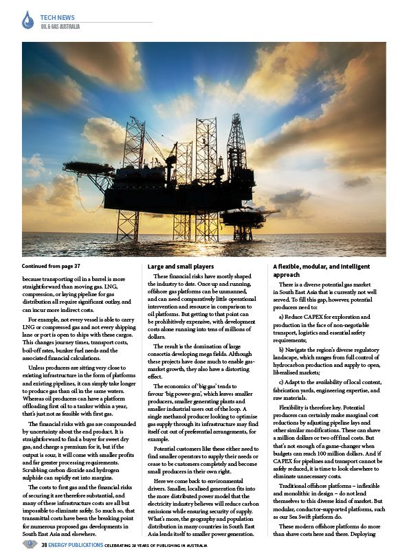 Oil & Gas Australia – February 2020 – Page 40