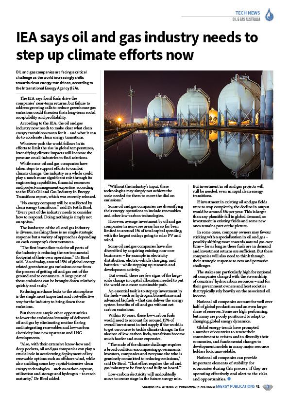 Oil & Gas Australia – February 2020 – Page 43