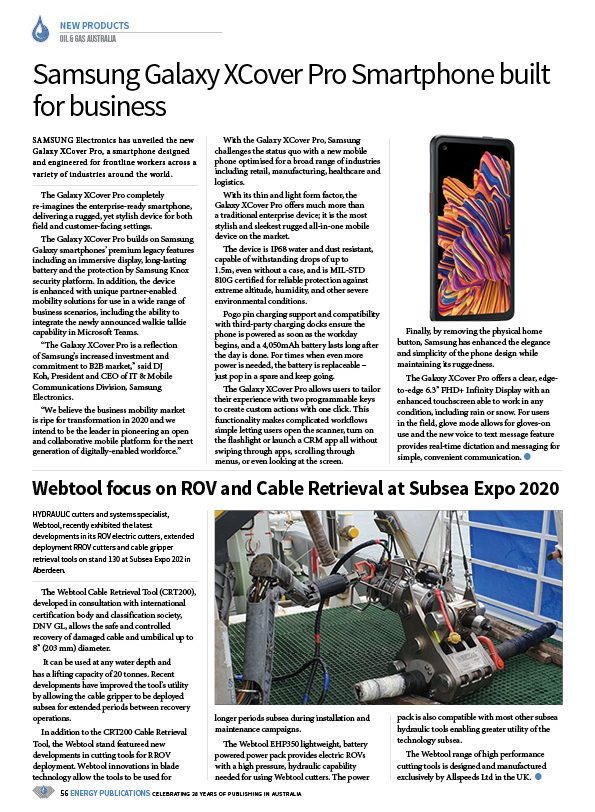 Oil & Gas Australia – February 2020 – Page 58