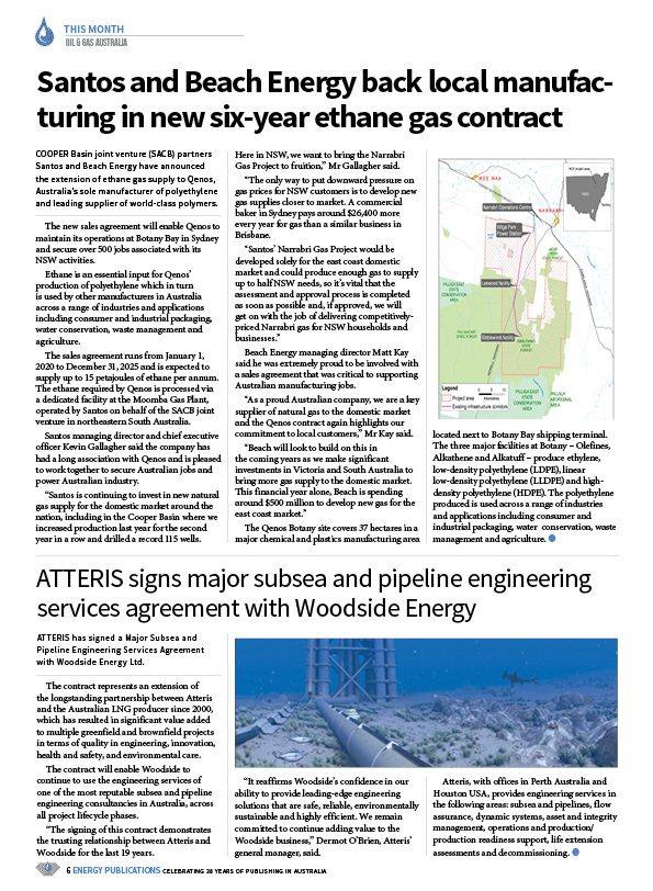 Oil & Gas Australia – February 2020 – Page 8
