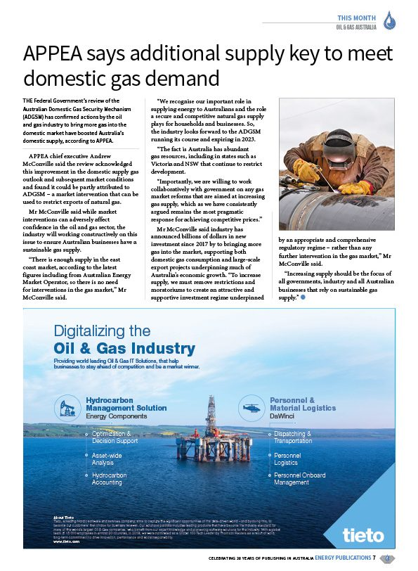 Oil & Gas Australia – February 2020 – Page 9