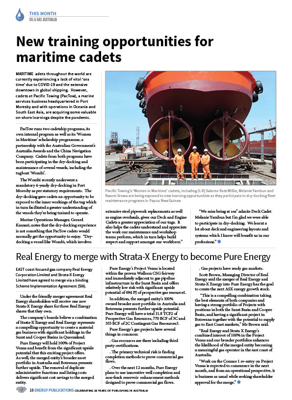 Oil & Gas Australia – July 2020 – Page 12