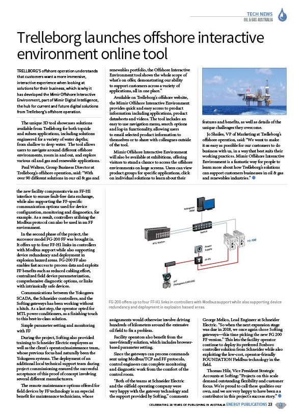 Oil & Gas Australia – July 2020 – Page 25