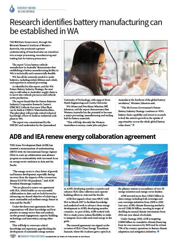 Oil & Gas Australia – July 2020 – Page 32