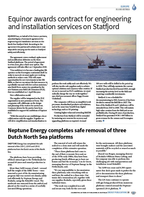 Oil & Gas Australia – July 2020 – Page 35