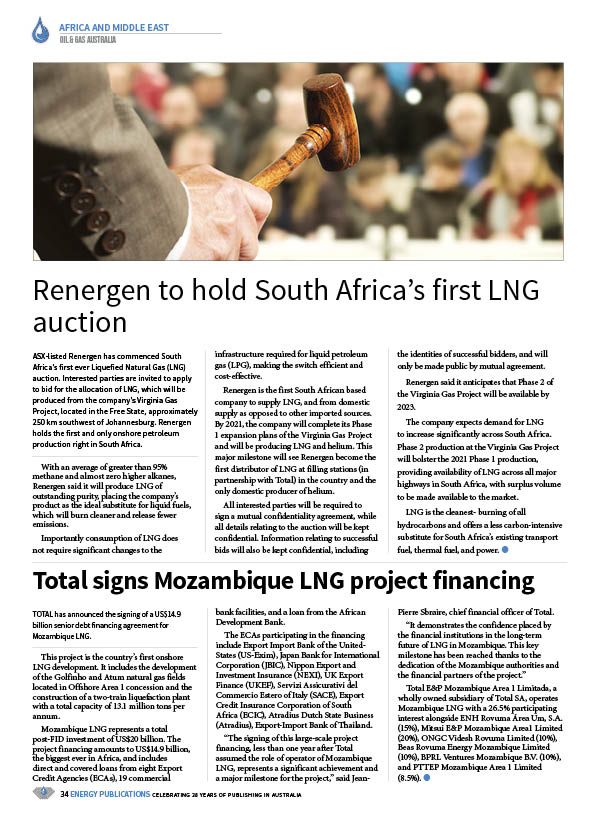 Oil & Gas Australia – July 2020 – Page 36