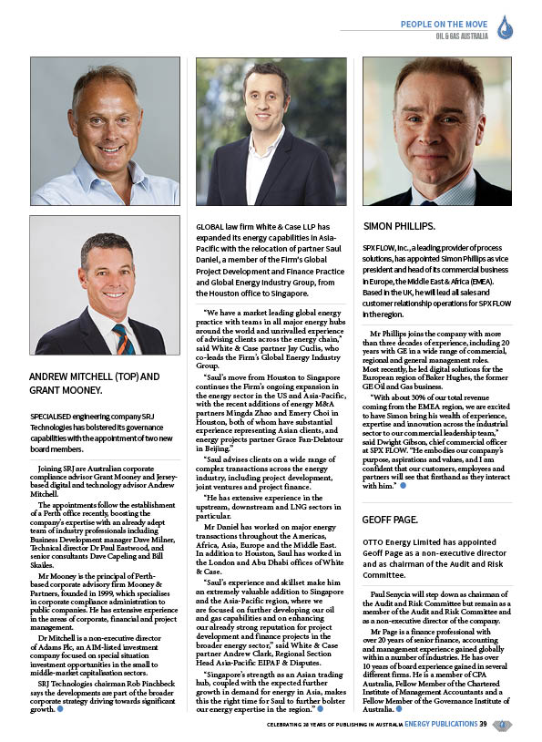 Oil & Gas Australia – July 2020 – Page 41
