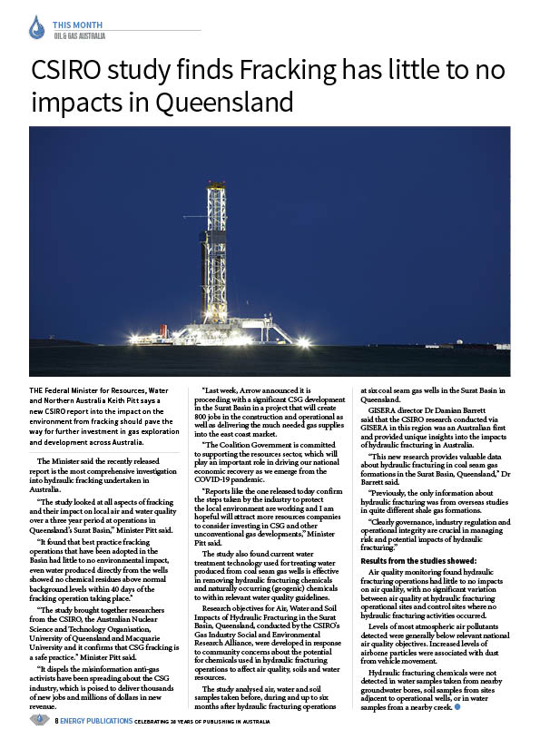 Oil & Gas Australia – May 2020 – Page 10