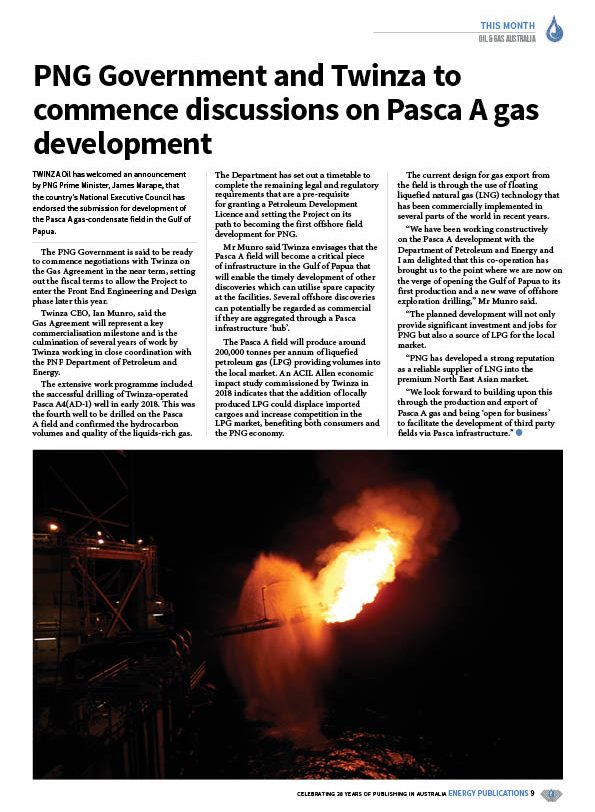 Oil & Gas Australia – May 2020 – Page 11