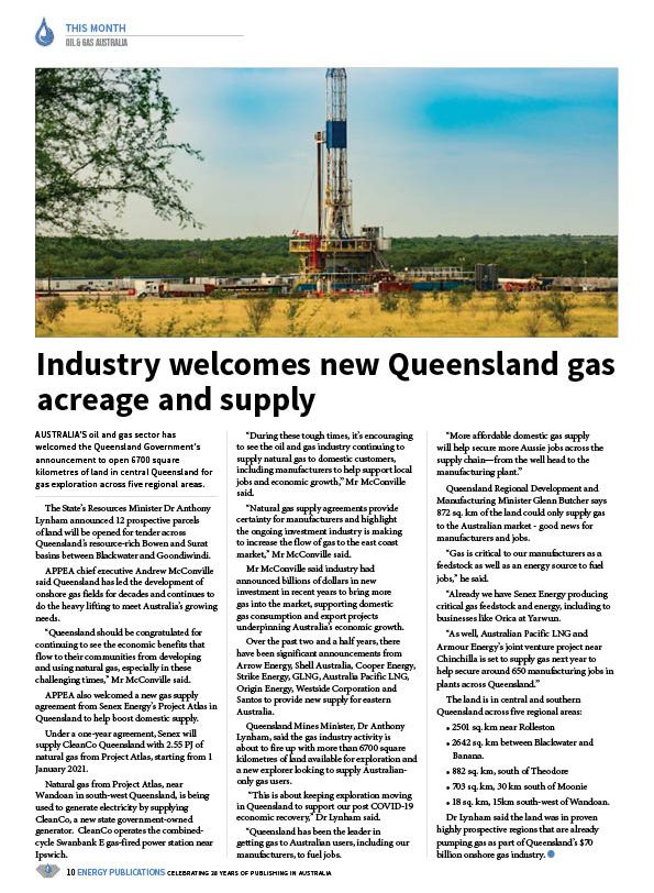 Oil & Gas Australia – May 2020 – Page 12