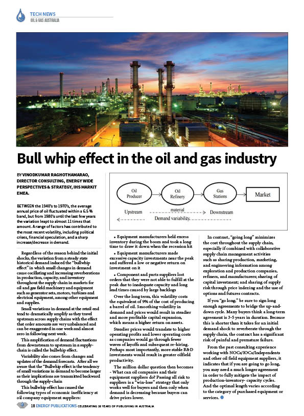 Oil & Gas Australia – May 2020 – Page 20