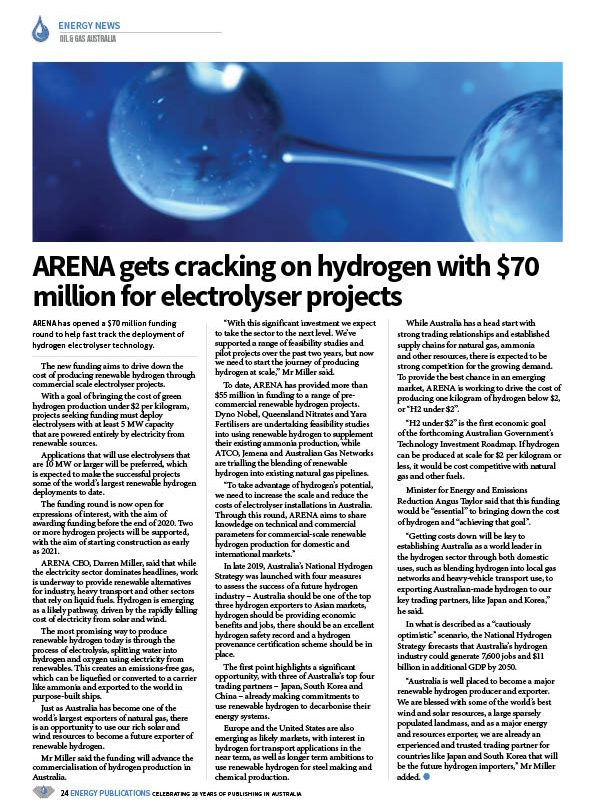 Oil & Gas Australia – May 2020 – Page 26