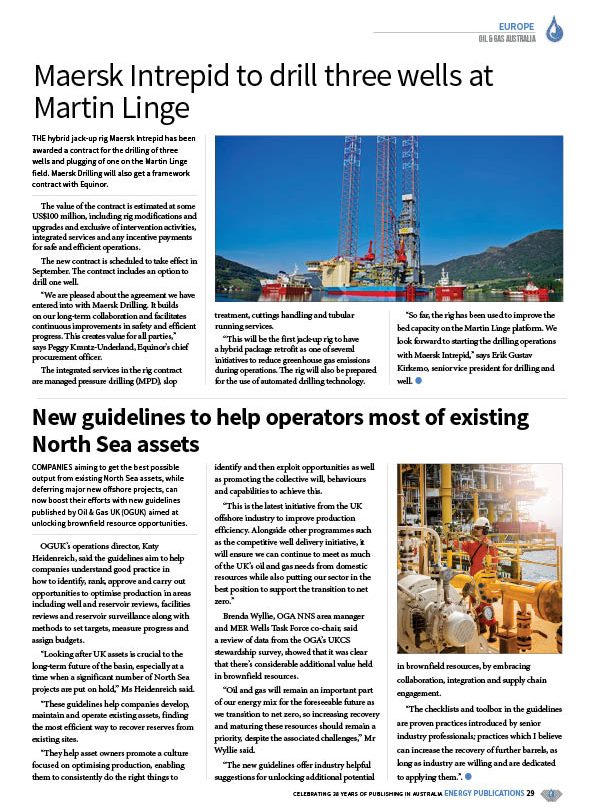 Oil & Gas Australia – May 2020 – Page 31