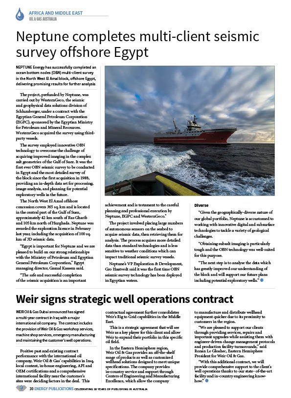 Oil & Gas Australia – May 2020 – Page 32