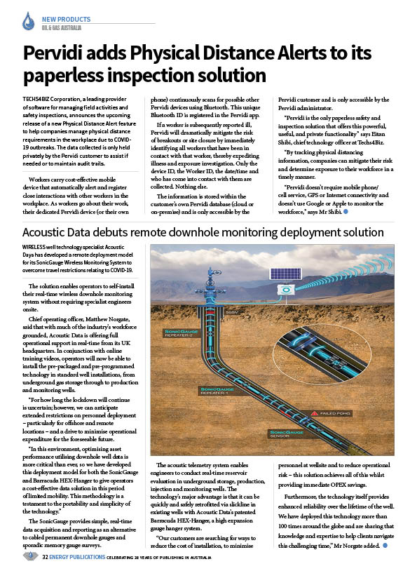 Oil & Gas Australia – May 2020 – Page 34